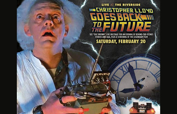 2/18/16-Back To The Future with Christopher Lloyd - 102.9 THE HOG
