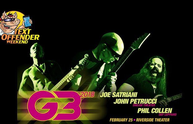 Text to win G3 tickets and meet Joe Satriani! - 102 9 THE HOG